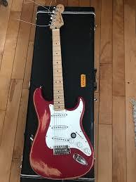 John Frusciante Style Custom Fender Strat Hardcase