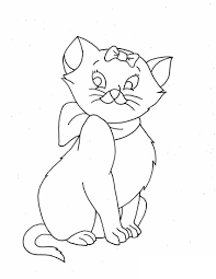 Great Cat Coloring Pages 42 For Books With