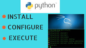 InstallConfigure And Execute Python Programmes In Kali Linux 2017 Latest