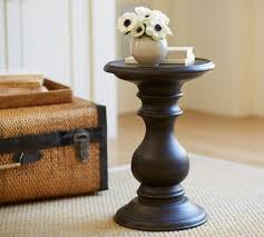 Russel Pedestal Side Table