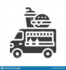 100 How To Sell A Truck Fast Food Vector Food Solid Style Icon Stock Vector