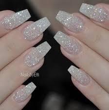 Glitter Nails …