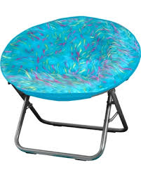 deal alert 22 off your zone spiker faux fur saucer chair teal