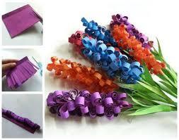 DIY Paper Swirly Flowersfor A Fun Spring Craft