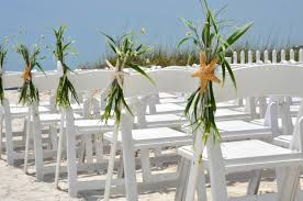 Starfish Ceremony Chair Decor