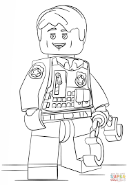 Click The Lego Undercover Police Officer Coloring Pages To View Printable Version Or Color It Online Compatible With IPad And Android Tablets