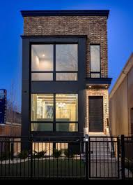 100 Contemporary Townhouse Design Dream Modern Townhome Urban Infill In 2019 Facade House