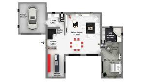 plan maison plain pied 6 chambres plan maison familiale plain pied plan maison