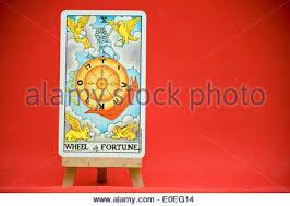 Universal Waite Tarot Deck Instructions by Wheel Of Fortune Tarot Card From The Hanson Roberts Tarot Deck