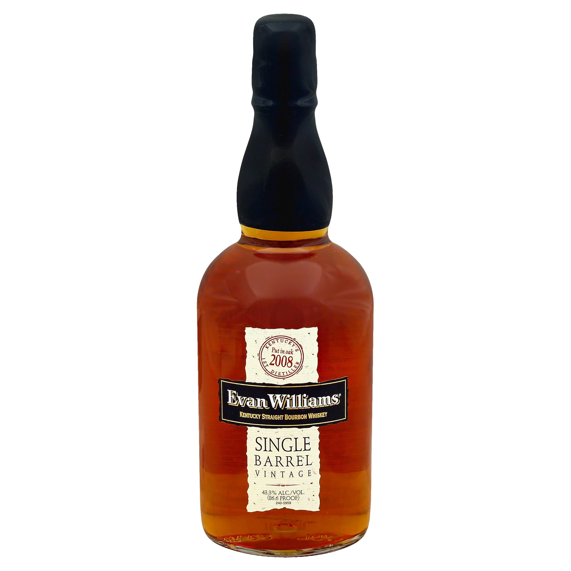 Evan Williams Kentucky Straight Bourbon Whiskey - 750ml