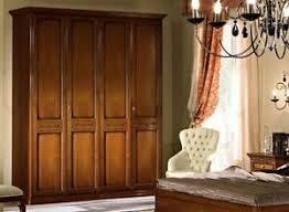 details zu klassischer schlafzimmerschrank nussbaum holzfurnier massivholz stil italienisch