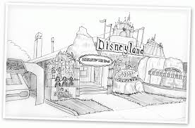12 Pics Of Disneyland Printable Coloring Pages
