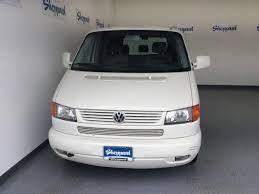 2001 Volkswagen Eurovan White Gasoline FWD Automatic