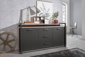 newroom sideboard robin eiche sorrento kommode vintage industrial highboard anrichte wohnzimmer schlafzimmer küche kaufen otto