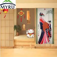 myru feng shui tür vorhang küche wc partition chinesischen japanischen vorhang tuch vorhang die schlafzimmer tür vorhang
