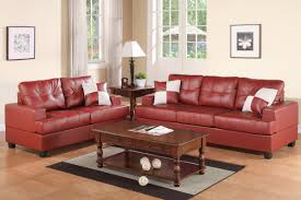 Poundex Reversible Sectional Sofa by 2 Piece Light Burgundy Sectional Set With Loveseat By Poundex