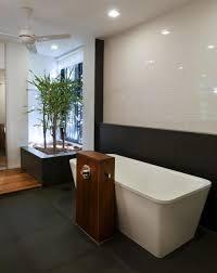 Plants In Bathrooms Ideas by Bathroom Stylish White Bathtub With Glossy Ceramic Wall And