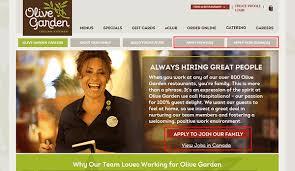 Olive Garden Job Application Adobe PDF Apply line