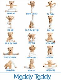 Vector Image Class Cartoon Yoga Poses And Names For Kids Stock Of Moms