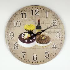 montre de cuisine exceptional horloge pour cuisine moderne 1 grande horloge