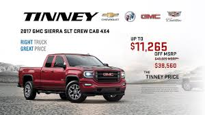 GMC Truck Discounts And Rebates On 2017 Sierra | Tinney Automotive ... Gmc Incentives Miller Auto Marine Ganoque Sierra 1500 Vehicles For Sale Yemm Automotive Group New Jeep Dodge Buick Chevrolet Elevation Edition Life North Bay Cole Is A Portage Dealer And New Car Used 2017 Review Ratings Edmunds Pottsville Pennsylvania Chrysler Seaview Dealership Serving Lynnwood Seattle Selling Eassist Hybrid Is There Future In 2019 Gmc Trucks 2018 Rebates Digital Editor Andrew Stoy If Youve Got To Get Lot Of Work Done