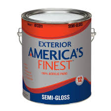 Glidden Porch And Floor Paint Sds by America U0027s Finest 1 Gal Semi Gloss Latex Light Colors Exterior