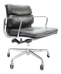 Knoll Pollock Chair Vintage by Vintage Eames Soft Pad Chair For Herman Miller 7299