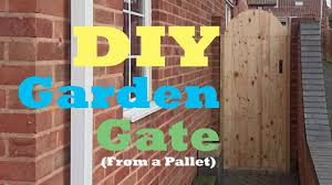 100 Building A Garden Gate From Wood DIY Gate From A Pallet