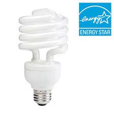 philips 100w equivalent daylight 5000k spiral cfl light bulb 6