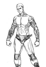 Wwe Randy Orton Coloring Pages 2