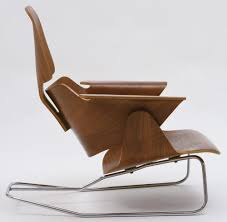 Charles Eames, Ray Eames. Experimental Lounge Chair. C. 1944 ... Eames Molded Plywood Lounge Chair History Eames Style How The Bentwood Lcw Is Made Core77 With Wood Base In 2019 Molded Plywood Lounge Chair Lcm Evans 1949 Charles Eames First Prod Ash Plywood Lounge Lcw Photo Dwell Modern Dark Walnut 199 Designed Moulded Lcm Chrome White Ash Metal Architonic Vitra Group