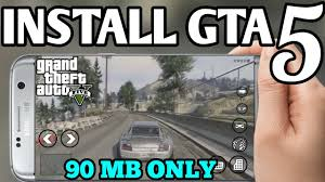 90mb GTA 5 MOBILE Download OFFICIAL GTA 5 FOR ANDROID and iOS Gta 5 android Gta5