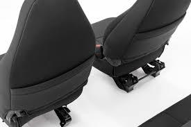 Black Neoprene Seat Cover Set For 97-02 Jeep Wrangler TJ [91000 ...