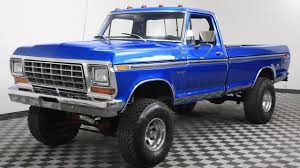 100 1978 Ford Truck For Sale FORD F150 BLUE YouTube