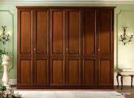 details zu klassischer schlafzimmer schrank nussbaum holzfurnier massivholz möbel italien