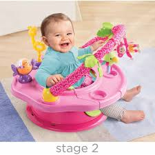 Baby Bath Chair Walmart by Summer Infant Island Giggles Deluxe Superseat Walmart Com