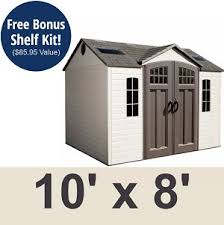 Sams Club Sheds by 942388 Lifetime 60095 Shed On Sale Fast And Free Shipping