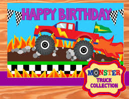 MONSTER TRUCK Party - Monster Truck BACKDROP- Monster Jam - Truck ... Pit Party Monster Jam Houston 2 12 2017 Youtube Truck Favor Tags Forever Fab Boutique Birthday Check Out This Cool Monster Truck Boy Birthday Party Favor Bags Invitations Marvelous Inside Awesome 50 Unique Club Pack Of 96 Mudslinger Plastic Loot Bags Invitation Etsy Monster Truck Food Labels Its Fun 4 Me 5th Sign Krown