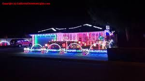 Christmas Tree Lane Ceres Ca Address by Best Christmas Lights And Holiday Displays In Sunnyvale Santa