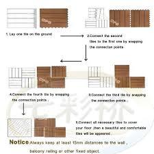 outdoor interlocking floor tiles wpc wpc interlocking decking