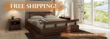 Alsa Queen Platform Bed by Platform Beds Online