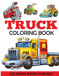 100 Fire Trucks Kids Truck Coloring Book Coloring Book With Monster