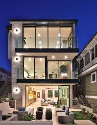 100 Modern Homes Pics Beachfront Luxury Modern Home Exterior At Night DIGS Cover