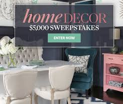Elle Decor Sweepstakes And Giveaways by Best Home Decorating Sweepstakes Gallery Interior Design Ideas