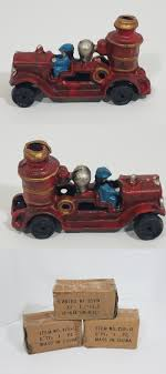 Cast Iron 721: Vintage Cast Iron Fire Engine Pumper Toy -> BUY IT ... Antique Toy And Fire Truck Museum Bay City Mi 48706 Great Lakes Old Toys Of The 1920s Red Pedal Engine Firemans Bell Childrens Car Gifts Antique Vintage Toy Fire Truck Solid Cast Iron Rubber Tires Vintage Mid Century Silver Etsy Sasquatch Antiques Vintage Childs Metal Toy Fire Truck By Hubley Tin Isolated On White Stock Photo Image Background Large Pumper Sold Ruby Lane Cast Iron Firetruck Repro With Driver