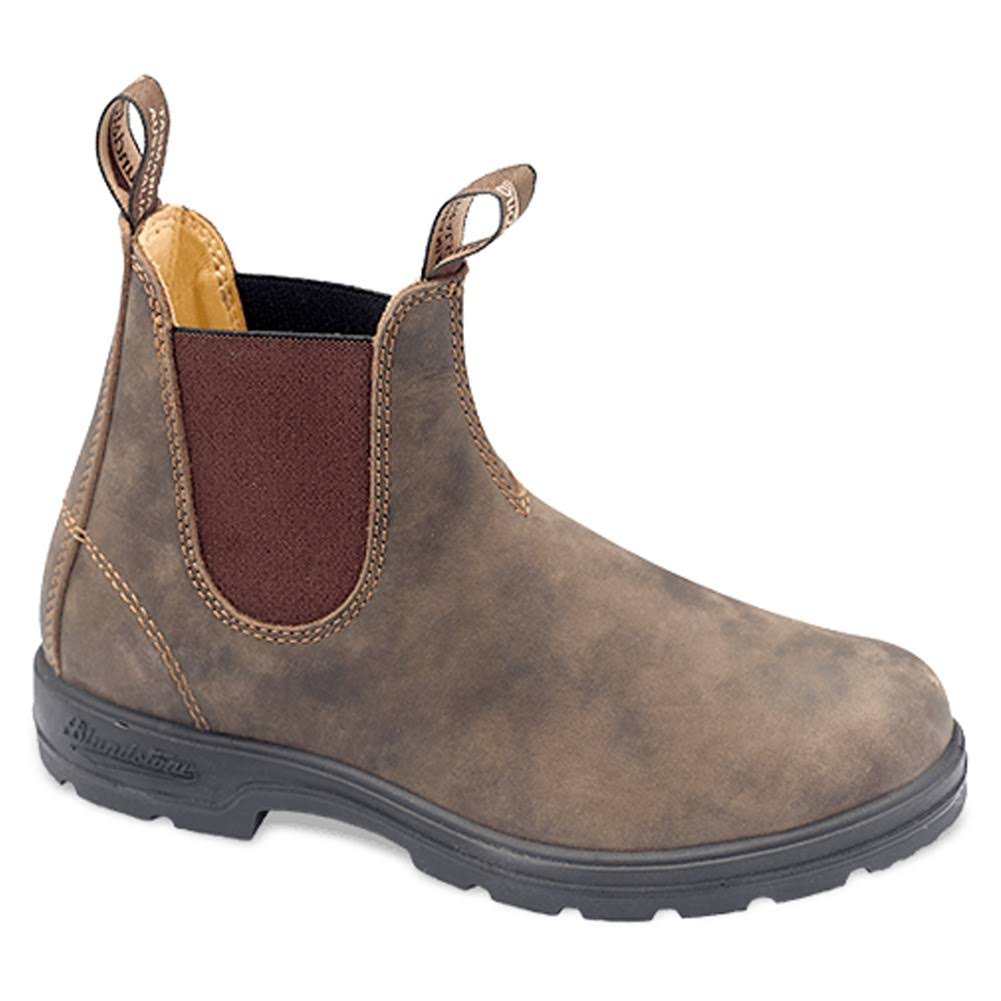 Blundstone Unisex Super 550 Series Boots - Rustic Brown