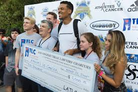 Former Bruin Matt Barnes Hosts Athletes Vs. Cancer Charity Event ... Matt Barnes Gloria Govan Host 3rd Annual Athletes Vs Cancer Love Triangle Splits Former Nba Ammates And Fisher Ny Caught A Lucky Break Now Hes An Champion Separated Take A Time Out On Marriage Derek Flipped Car New York Post Photos Snoop Vs Charity Celeb Football Accused Of Choking Girlfriend In Nightclub Isnt Hiding Relationship Anymore With Deandre Jordan Departing The Ig Comment To For Sleeping With His Ex Accuses Hiding Assets Divorce