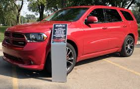 2012 Dodge Durango Car Show Display Stand