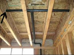 Floor Joist Bracing Support by Plumbing And Floor Framing Drilling Holes In Truss Joist Youtube