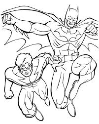 Interesting Batman Beyond Coloring Pages New Kids
